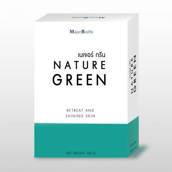 nature green soap สบู่เนเจอร์กรีน สบู่สารสกัดจากพูลคาวตอง-1